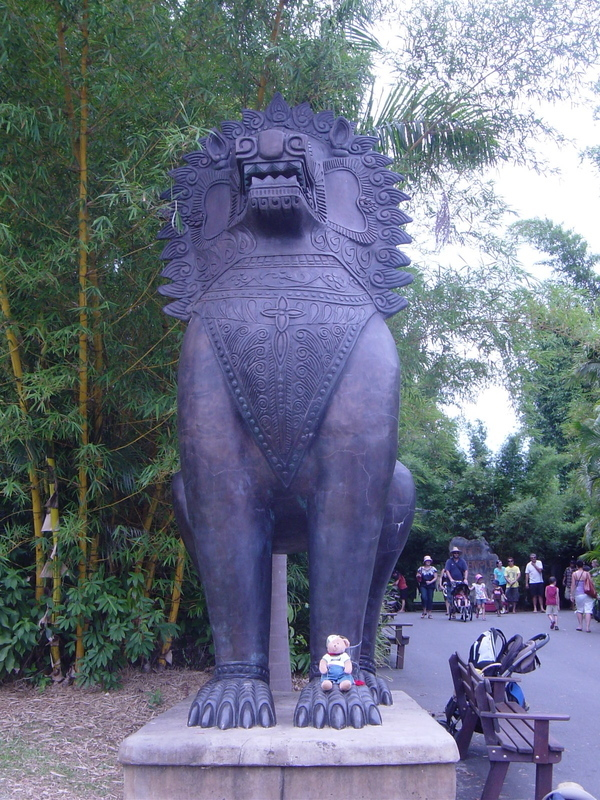 Tigersculpture
