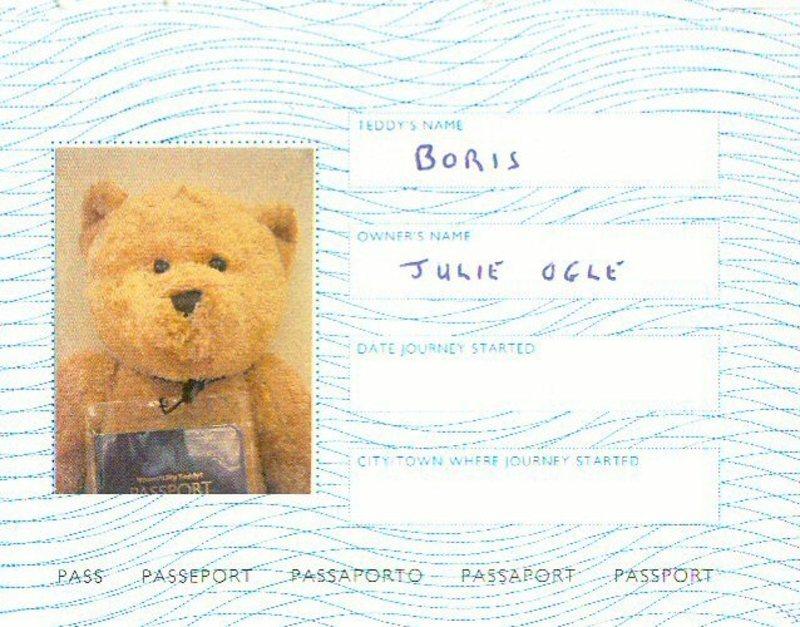 Passport for boris