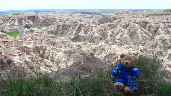 Feed m badlands natl pk