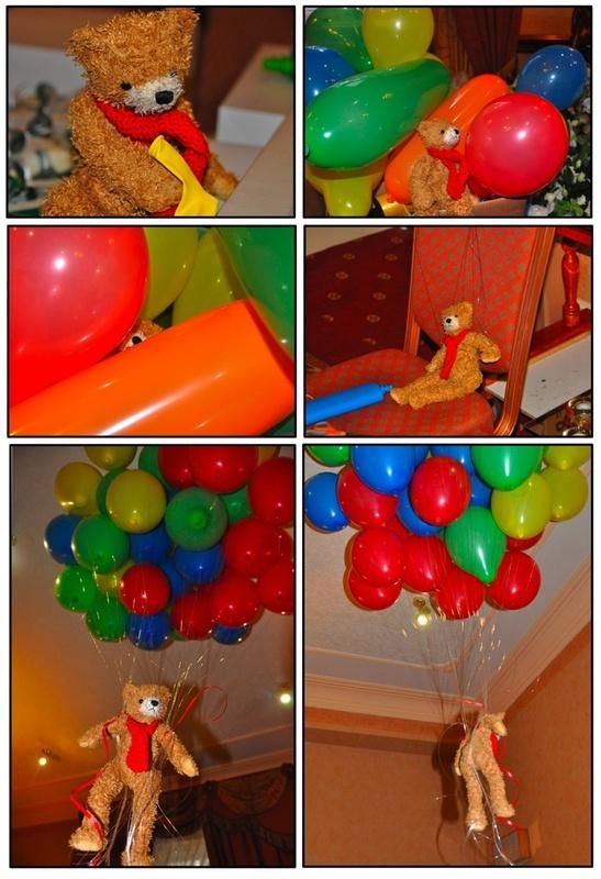 Treacle balloons