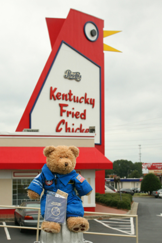 Bill at the big chicken
