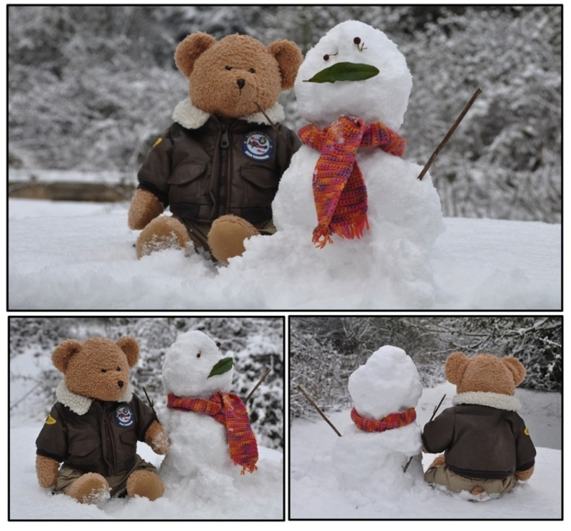 Boogie snowman